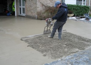 9. Vibrating the Concrete