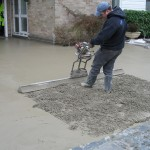 Vibrating the Concrete